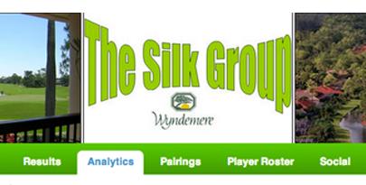 Large silk group